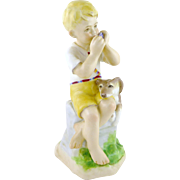 Royal Worcester June Figurine by Freda Doughty, Months of the Year  3456 c. 1952