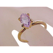 SALE REDUCED ~ Lavish Lab Created ALEXANDRITE  Faceted Marquis Cut Birthstone/Fashion Ring ~ S