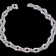 SALE Incredible Silver Plate CHARM Bracelet
