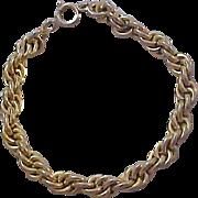 SALE Striking Gold Plate TORSADE Bracelet