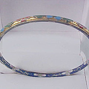 SALE Bright & Colorful Cloisonne ~ Hand Painted Bangle