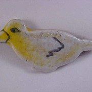 SALE FREE Ship USA ~ Lucite Laminate Duck Brooch/Pin