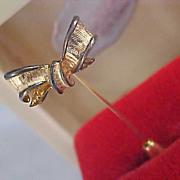 SALE Dimensional GOLD Plate STICK Pin
