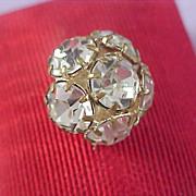 SALE Diamante` Medium Headlights - 1930's Button