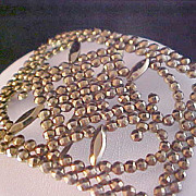 REDUCED Gold Aurum Open Craftsmanship Belt Buckle