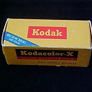 SALE Old 1968 KODAK-KODACOLOR Film - Unopened Box ~ Highly Collectible