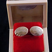 SALE Father's Day - ANSON 12KT Gold Fill 1950's Men's Cuff Links