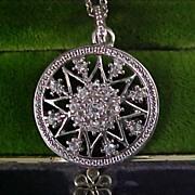 SALE $10 Sale - AVON-Diamante Pendant and Extender Chain