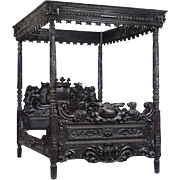Sivis Pacem Para Bellum – A Gothic Revival Four-Poster Bed