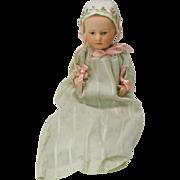 "SALE Rare 7"" Heubach Baby Stuart bisque head doll"