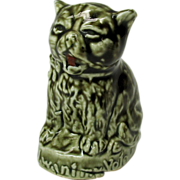Suffrage porcelain cat advertising figure-I want my vote!
