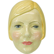 Royal Doulton Greta Garbo face wall mask HN 1593