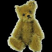 Early Stieff miniature Teddy bear trailing F button