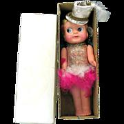 "1920's 10 1/2"" celluloid Carnival kewpie doll original box"
