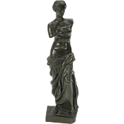 Fine 19th Century bronze Venus De Milo figure signed Jullien Paris 6 1/2""