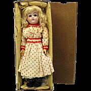 "SALE PENDING 14"" Closed mouth Kestner 169 doll in original box all original"