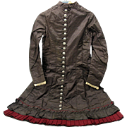"SALE PENDING 1885 Victorian child's dress would fit a 36"" doll"