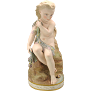 Copeland parian colored Water Babies figure MISS ELLIE 1872