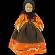 """Vintage 14"""" Lenci felt doll"""