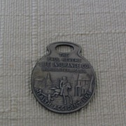Paul Revere Life Insurance Metal Key Tag Worcester MA
