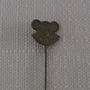 Advertising Metal Stickpin Koala Bust Koala Company