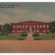 Ebert Ice Cream Co. Frederick MD Maryland