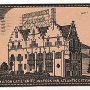 Milton Latz' Knife and Fork Inn Atlantic City NJ PC