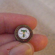 Vintage Brotherhood of Railroad Trainmen Membership Lapel Pin
