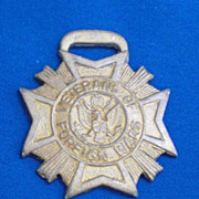 Veterans of Foreign Wars Watch Fob