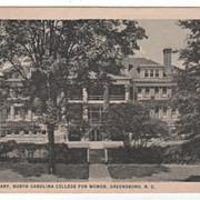 Infirmary North Carolina College for Women Greensboro NC North Carolina