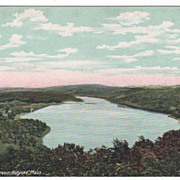 Whiting Street Reservoir Holyoke MA Massachusetts Postcard