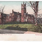 Assembly Hall Smith College Northampton MA Massachusetts Postcard