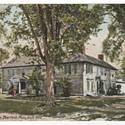 Frary House Deerfield MA Massachusetts Built 1698 Postcard