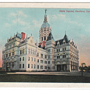 State Capitol Hartford CT Connecticut Postcard