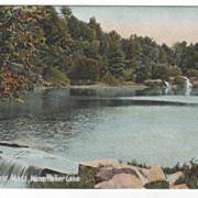 East Northfield MA Massachusetts Wanamaker Lake Postcard