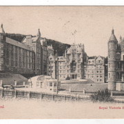 Royal Victoria Hospital Montreal Canada Vintage Postcard