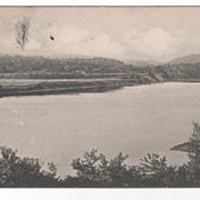 Connecticut River from Searles Crossing Charlestown NH New Hampshire Postcard