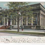 Milwaukee WI Wisconsin Layton Art Gallery Postcard - Raphael Tuck