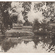 Newell Pond Greenfield MA Massachusetts Postcard