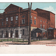 Academy Of Music Northampton MA Massachusetts Postcard
