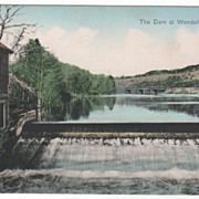 SOLD The Dam at Wendell MA Massachusetts Vintage Postcard