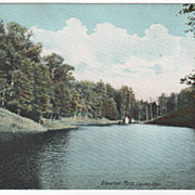 Greenfield MA Massachusetts Layden Glen Vintage Postcard