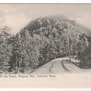 At the Notch Holyoke Mts Amherst MA Massachusetts Vintage Postcard