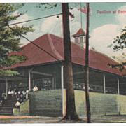 Pavilion at Brookside Park Athol MA Massachusetts Vintage Postcard