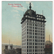 Keenan Building Pittsburgh PA Pennsylvania Vintage Postcard