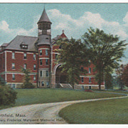 East Northfield MA Massachusetts Northfield Seminary Frederick Marquand Memorial Hall Vintage