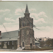 St Thomas Episcopal Church Dover NH New Hampshire Vintage Postcard
