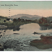Little River Near Knoxville TN Tennessee Vintage Postcard