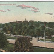University of Tennessee Knoxville TN Tennessee Vintage Postcard