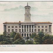 Nashville TN Tennessee State Capitol Vintage Postcard - Tuck